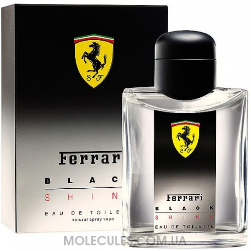 Ferrari Black Shine 125 ml